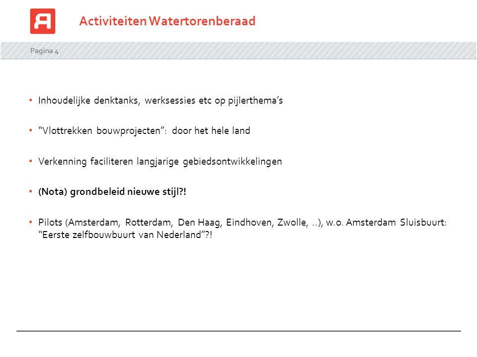 Activiteiten Watertorenberaad