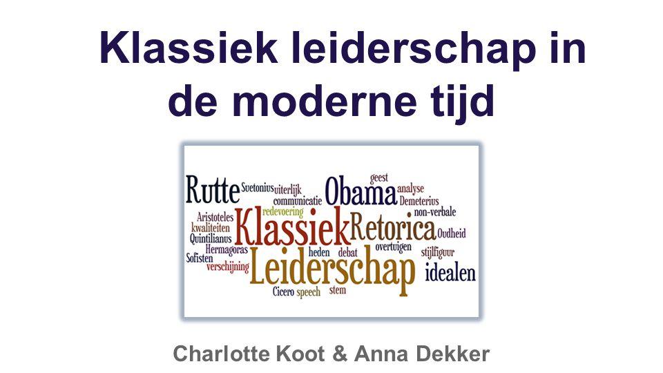Klassiek leiderschap in de moderne tijd