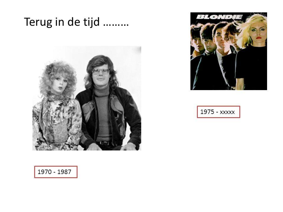 Terug in de tijd ……… 1975 - xxxxx 1970 - 1987