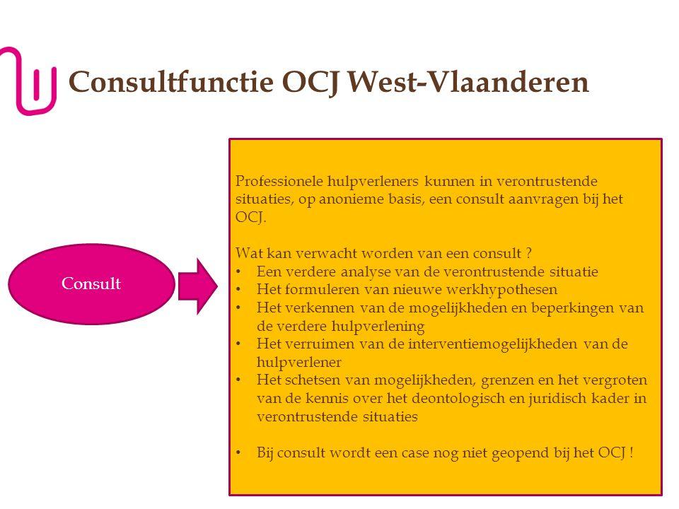 Consultfunctie OCJ West-Vlaanderen