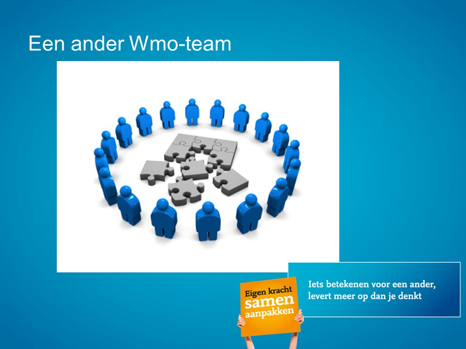 Een ander Wmo-team