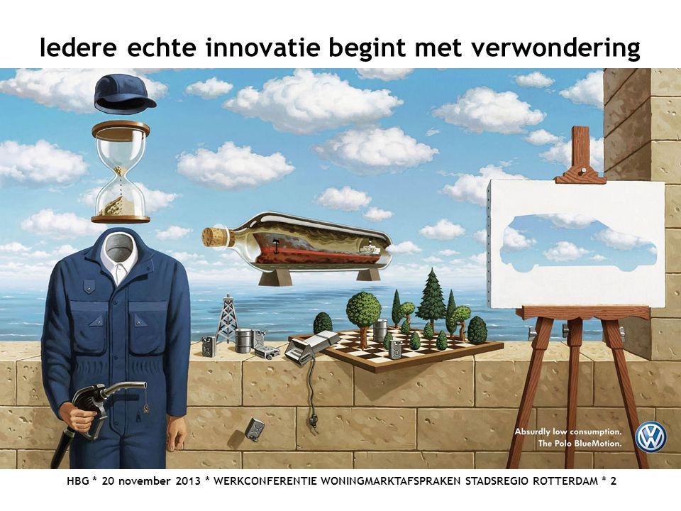 Iedere echte innovatie begint met verwondering