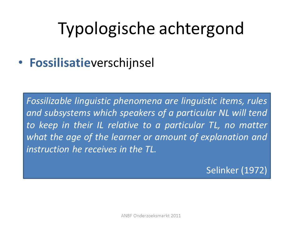 Typologische achtergond