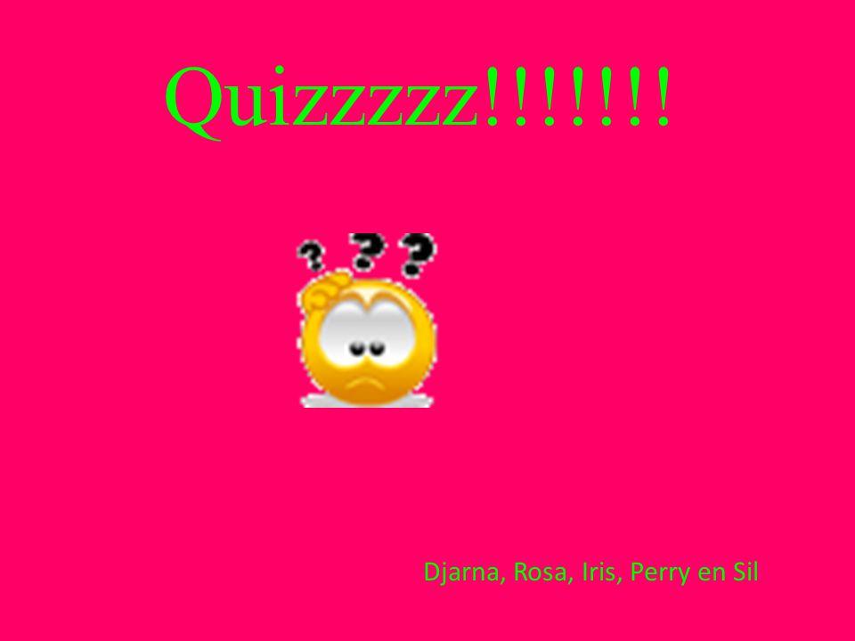 Djarna, Rosa, Iris, Perry en Sil