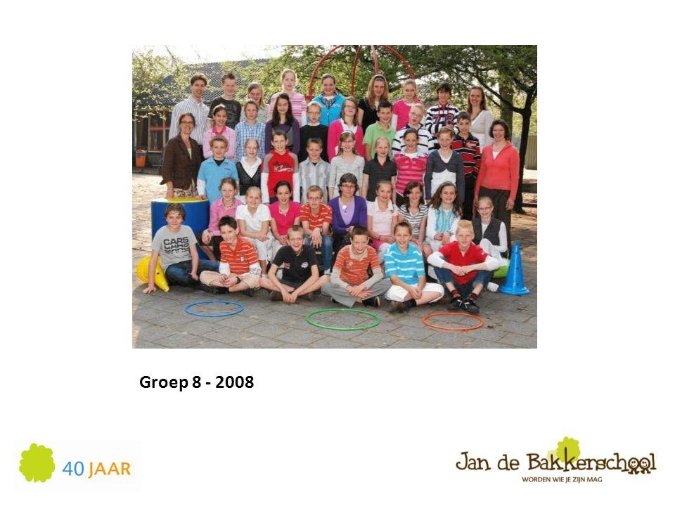 Groep 8 - 2008