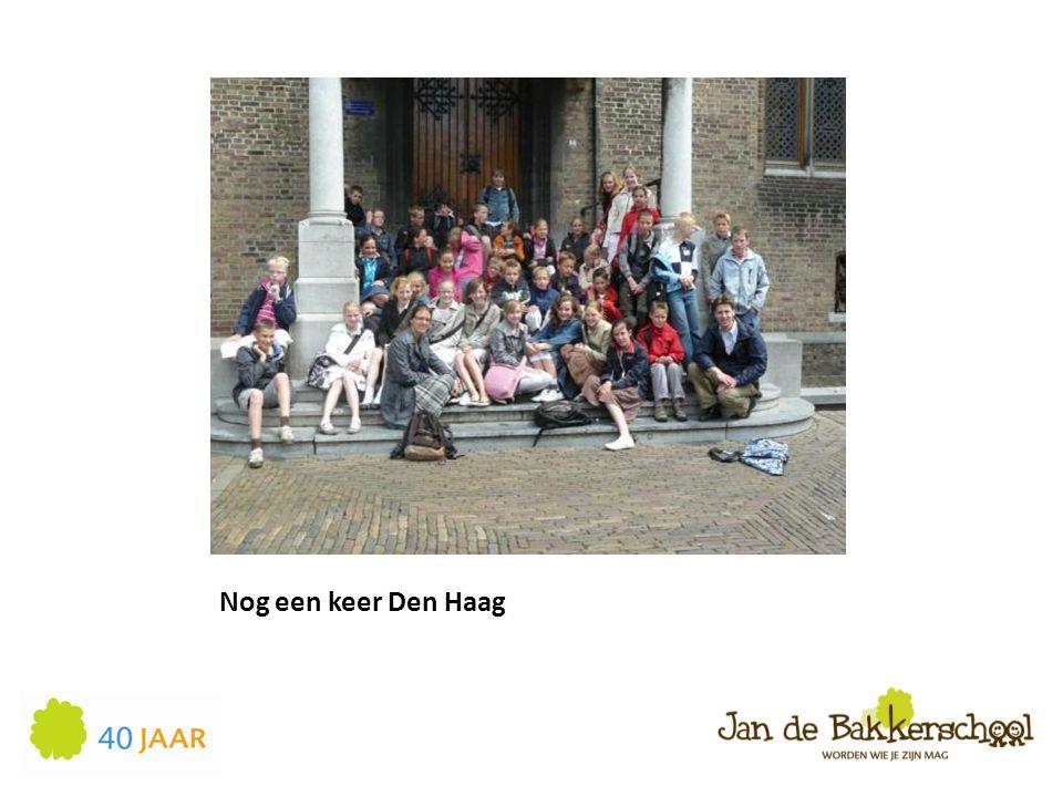 Nog een keer Den Haag