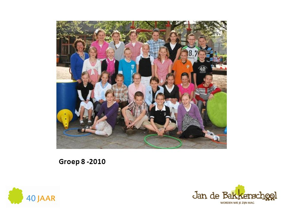 Groep 8 -2010