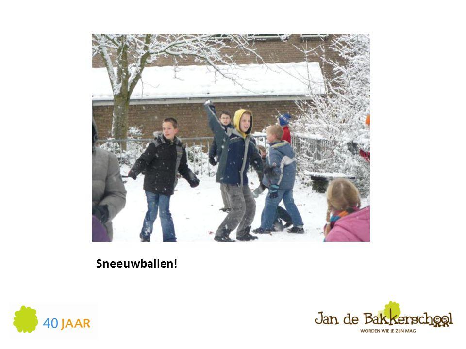 Sneeuwballen!