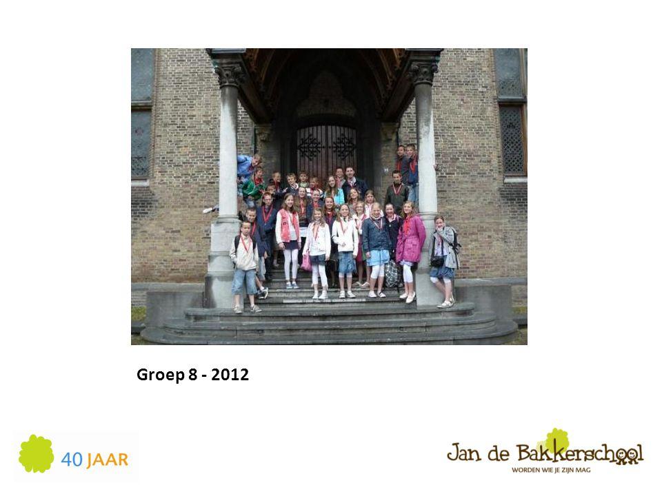 Groep 8 - 2012