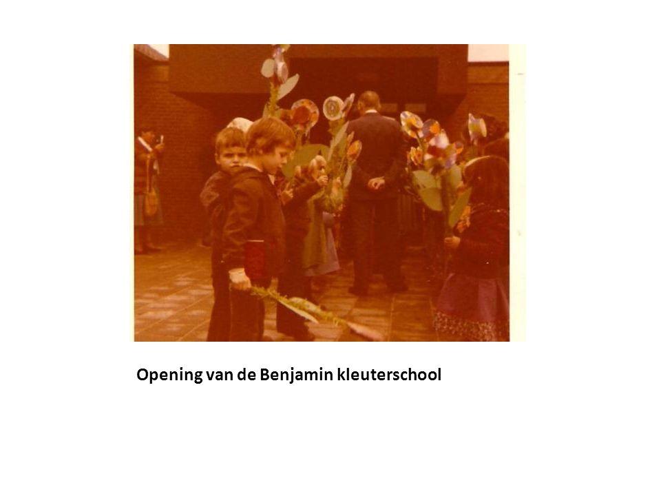 Opening van de Benjamin kleuterschool