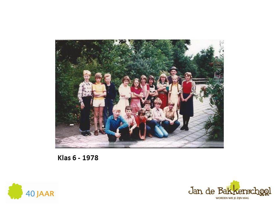Klas 6 - 1978