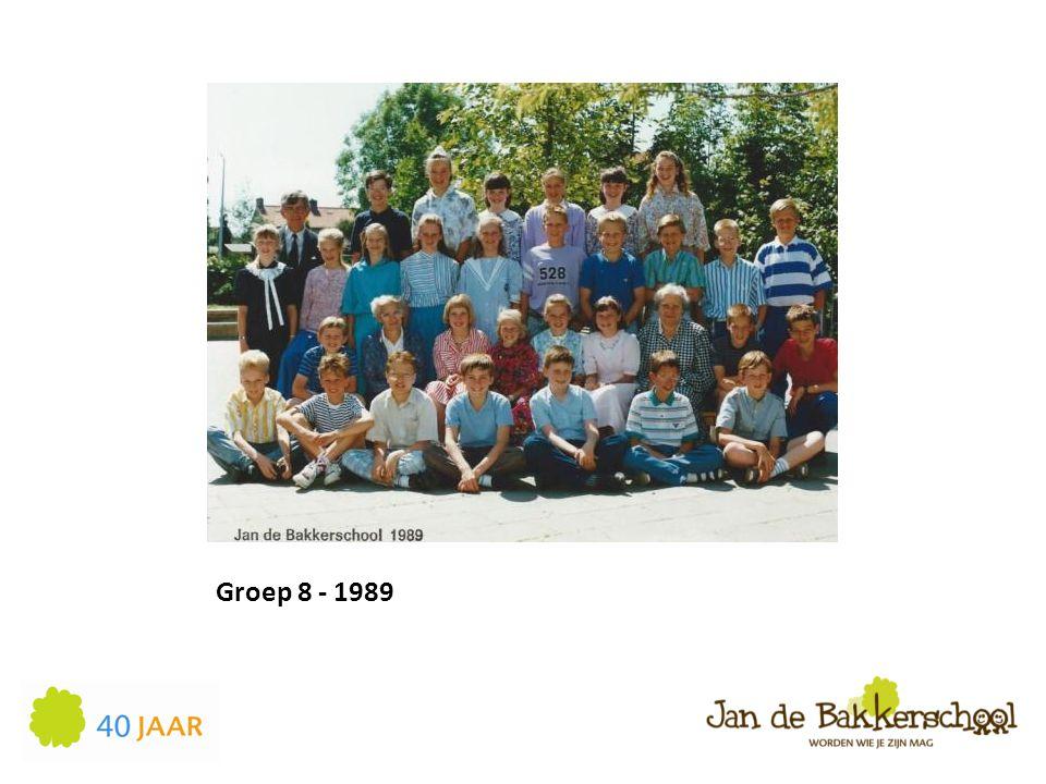 Groep 8 - 1989