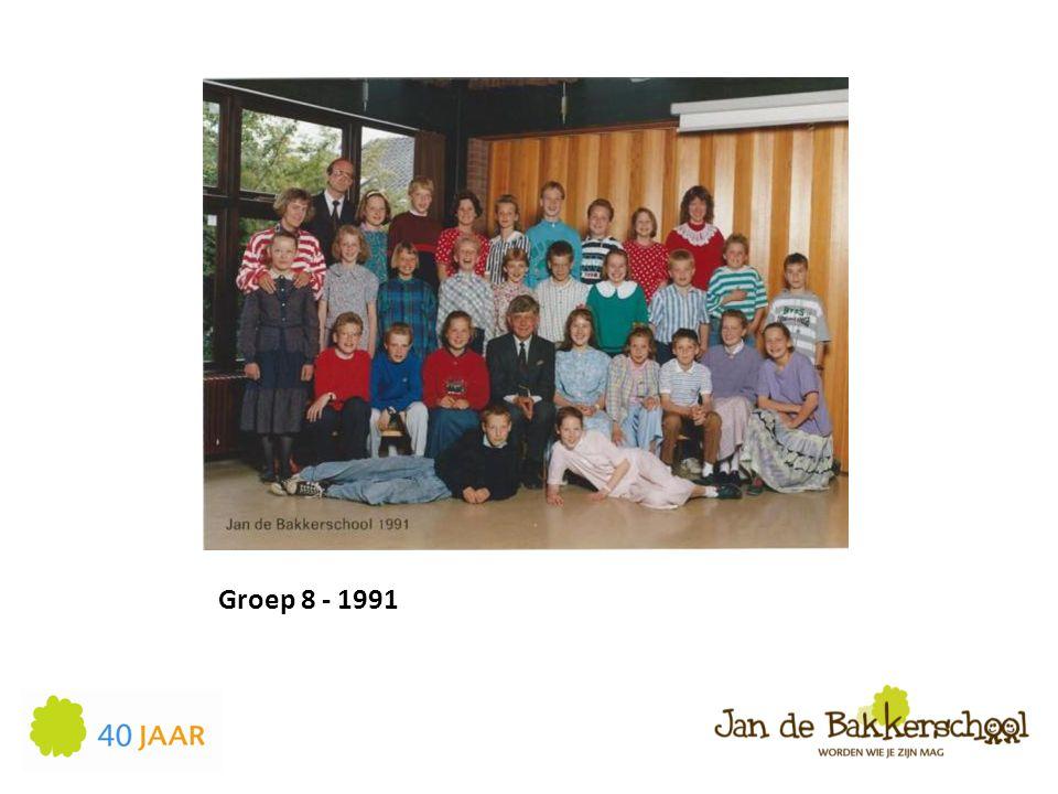 Groep 8 - 1991