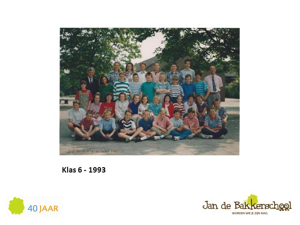 Klas 6 - 1993