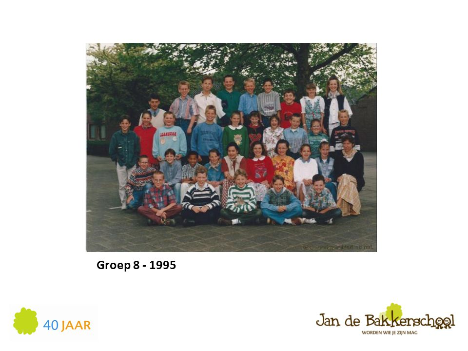Groep 8 - 1995