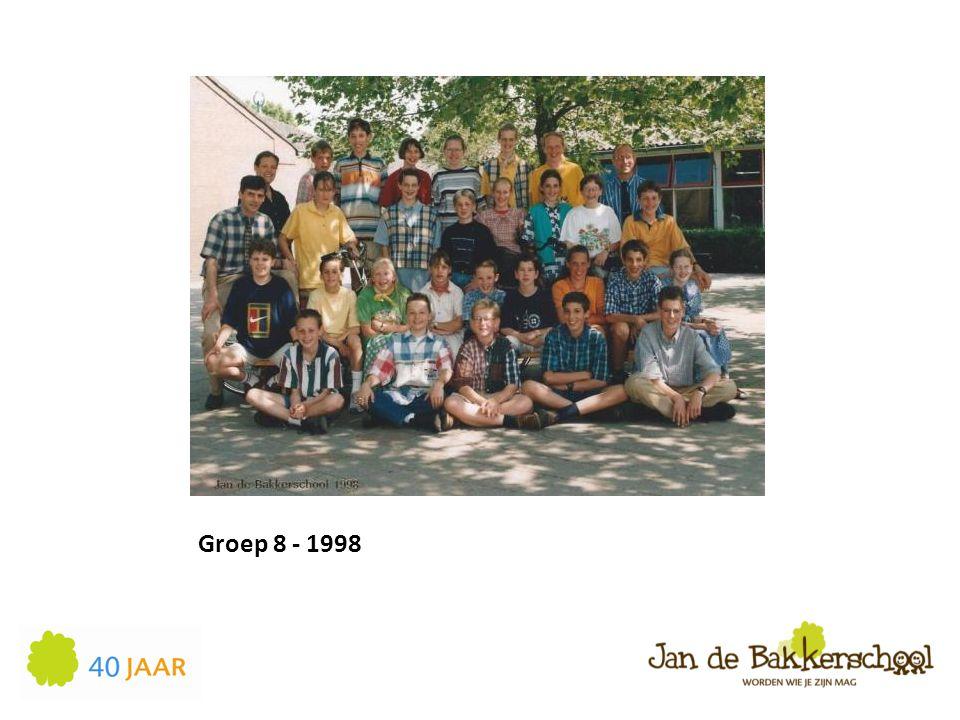 Groep 8 - 1998