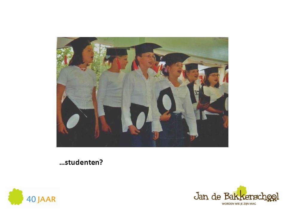 …studenten