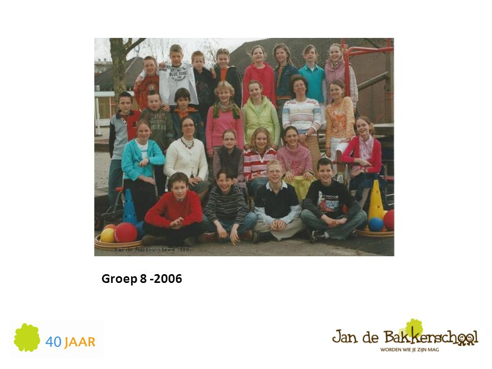 Groep 8 -2006