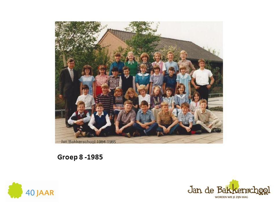 Groep 8 -1985