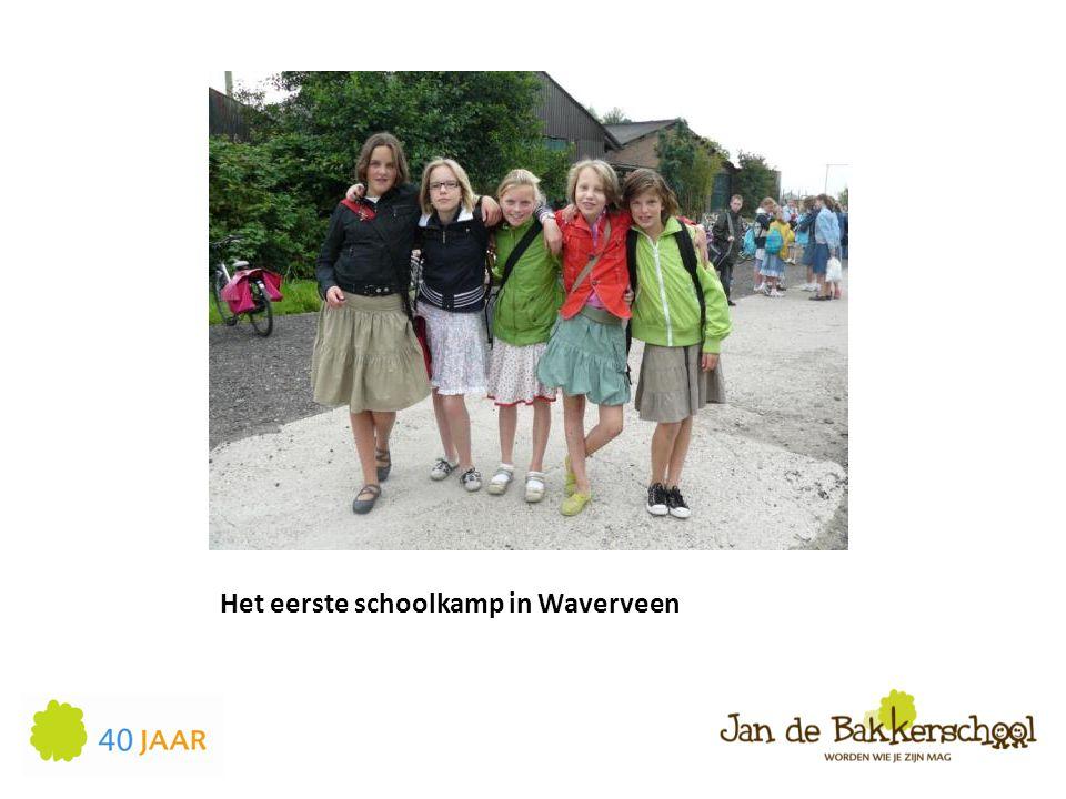 Het eerste schoolkamp in Waverveen