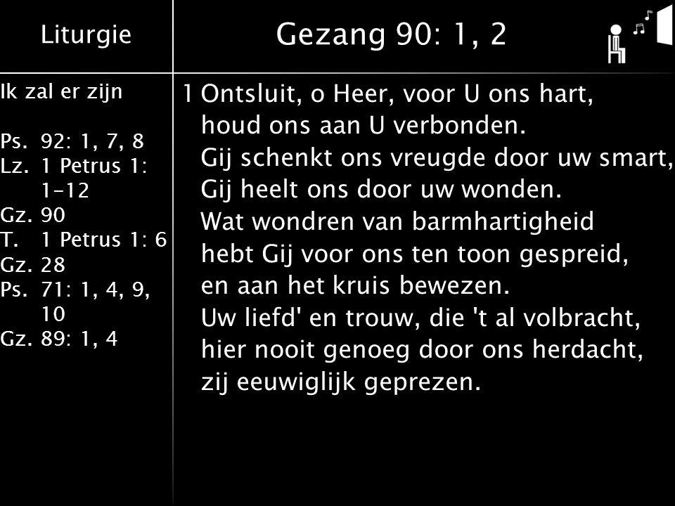 Gezang 90: 1, 2