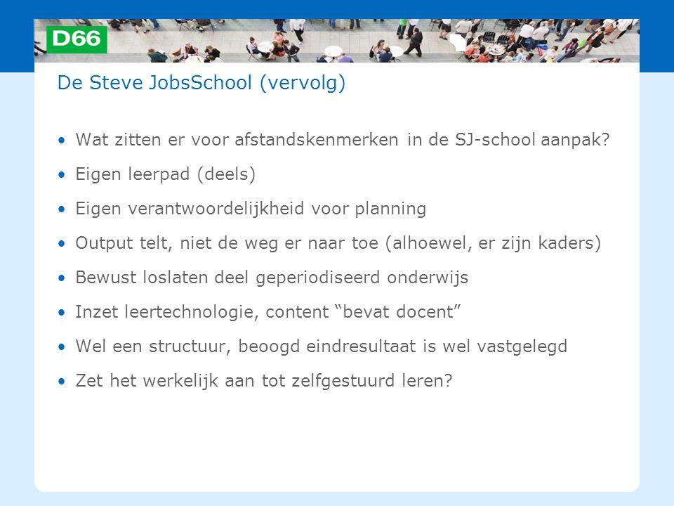 De Steve JobsSchool (vervolg)