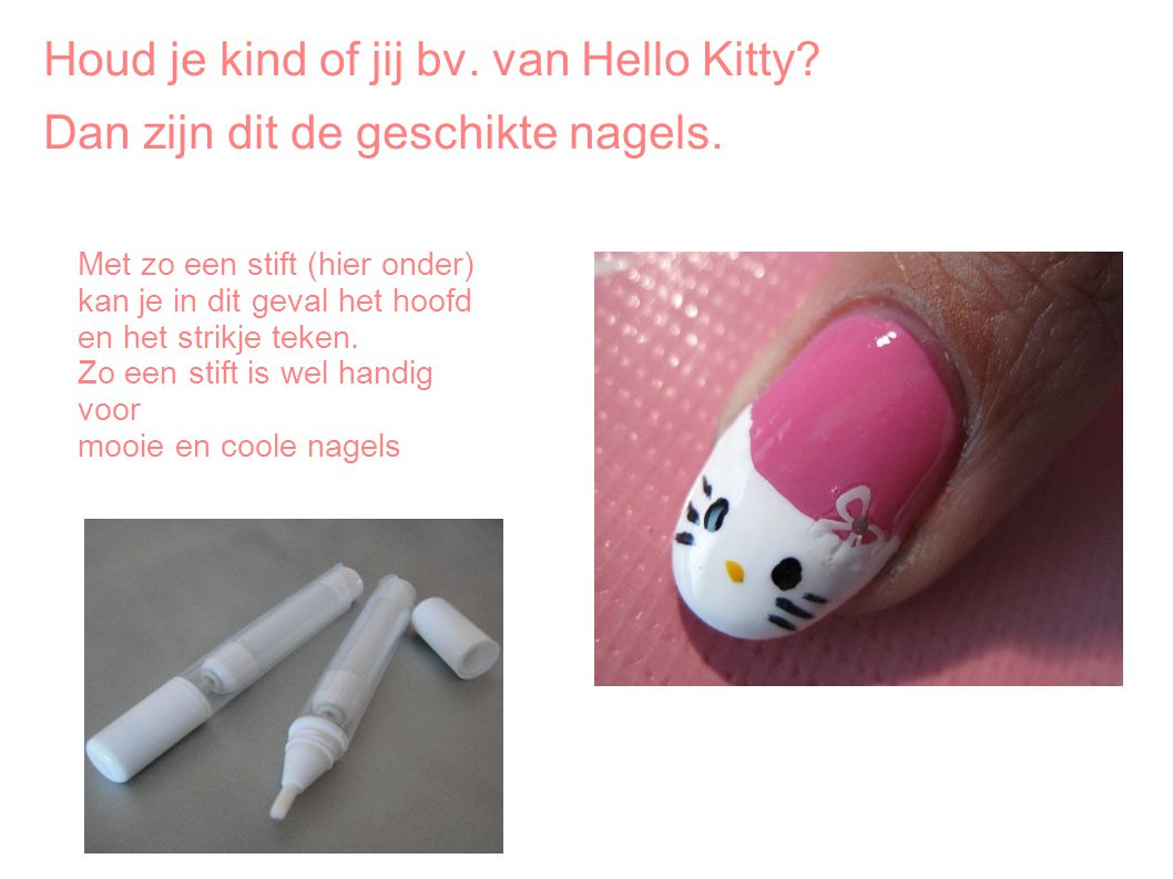 Houd je kind of jij bv. van Hello Kitty