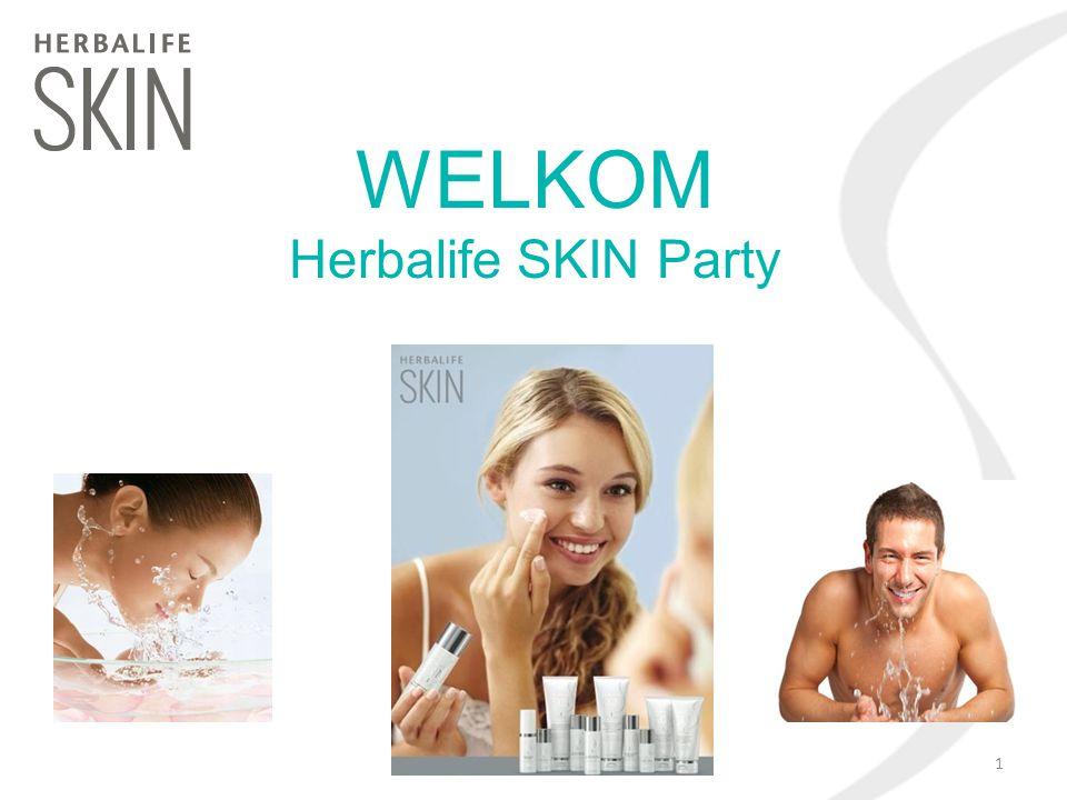 WELKOM Herbalife SKIN Party