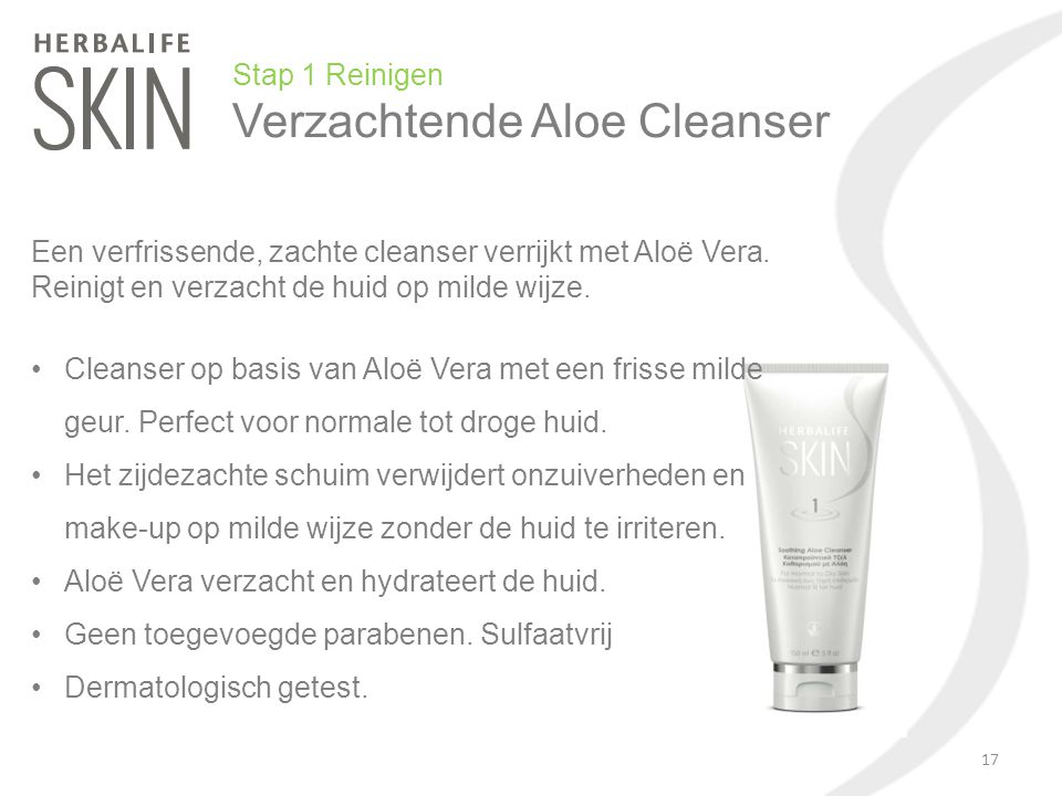 Verzachtende Aloe Cleanser