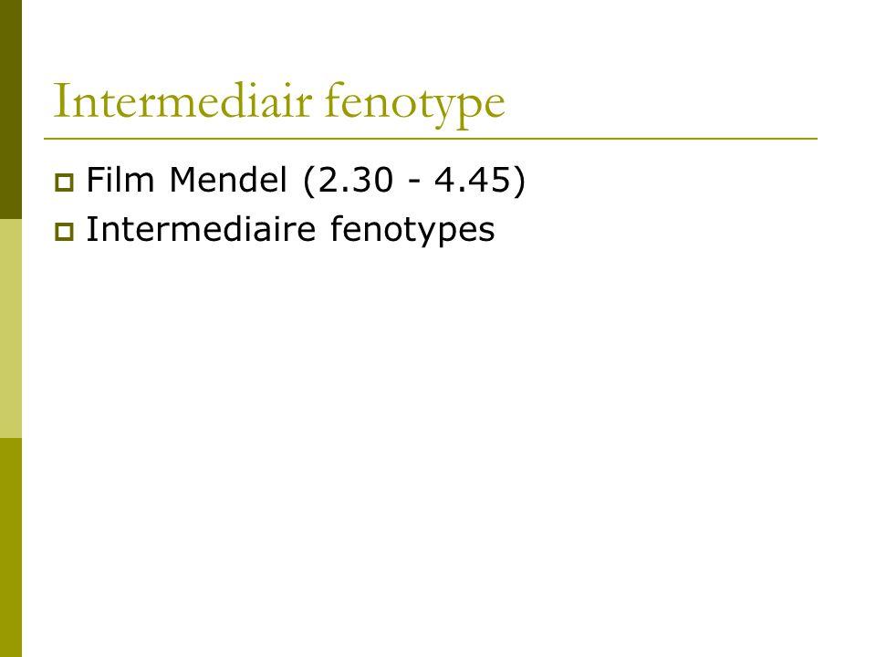 Intermediair fenotype