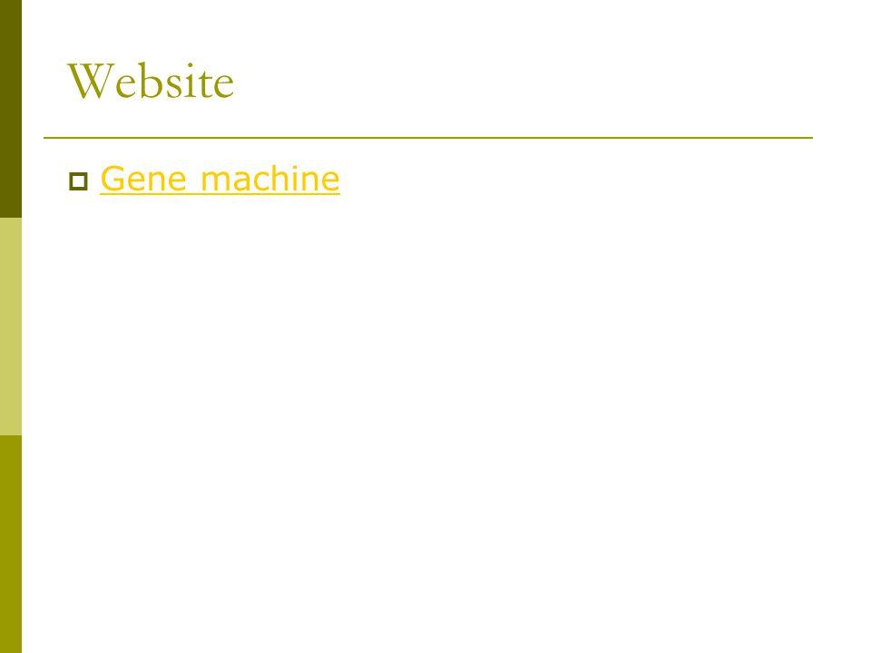 Website Gene machine
