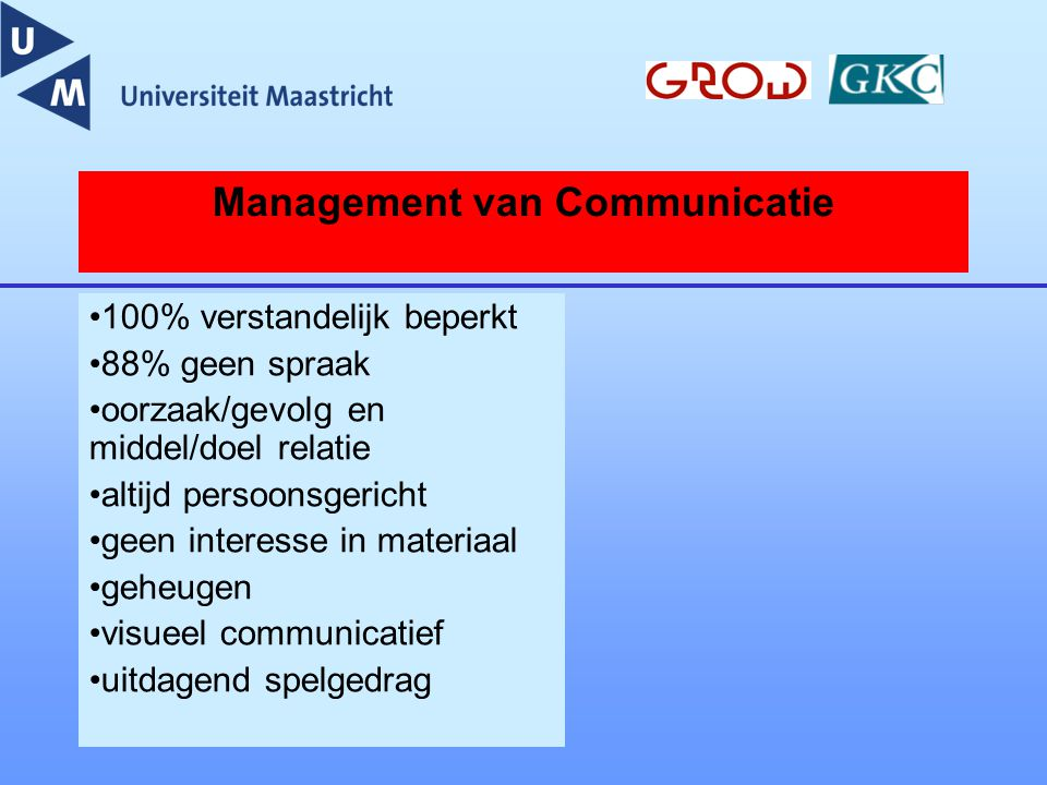 Management van Communicatie