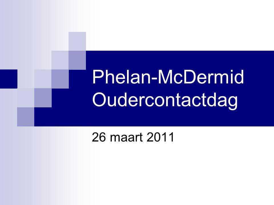 Phelan-McDermid Oudercontactdag