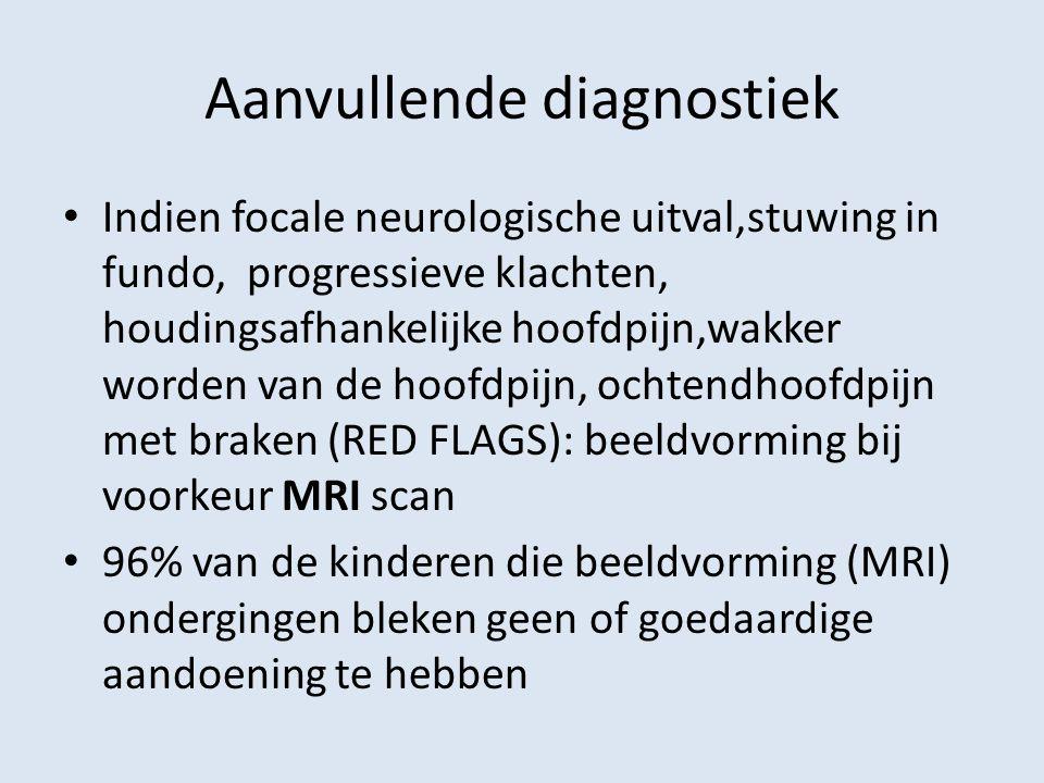 Aanvullende diagnostiek