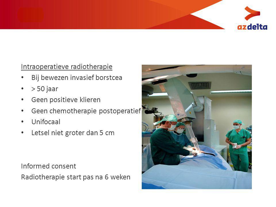 Intraoperatieve radiotherapie