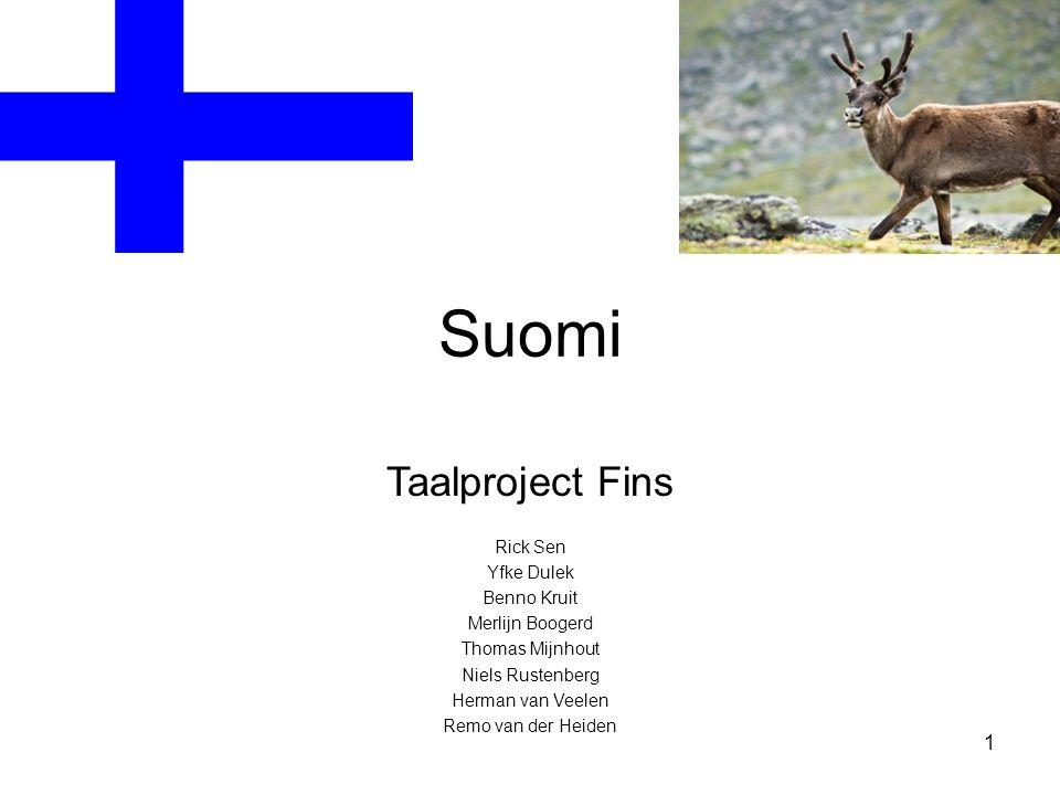 Suomi Taalproject Fins 1 Rick Sen Yfke Dulek Benno Kruit