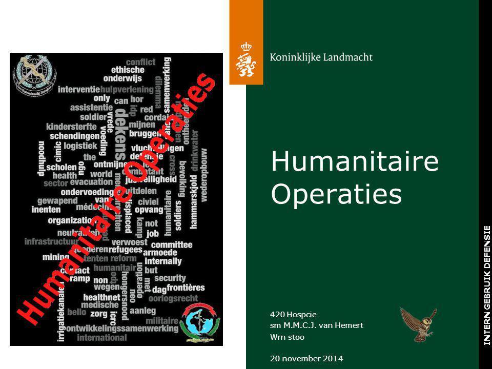 Humanitaire Operaties