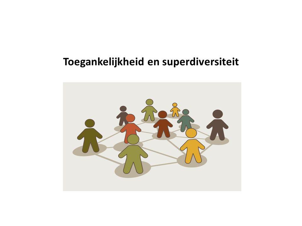 Toegankelijkheid en superdiversiteit