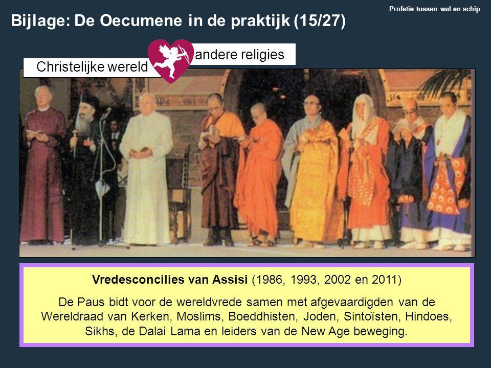 Vredesconcilies van Assisi (1986, 1993, 2002 en 2011)