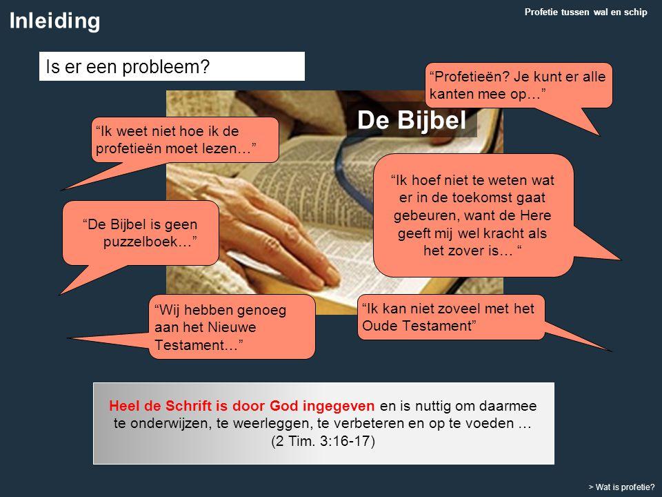 De Bijbel is geen puzzelboek…