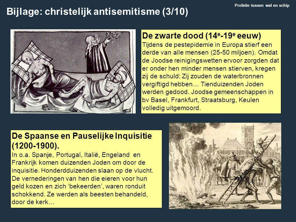 Bijlage: christelijk antisemitisme (3/10)