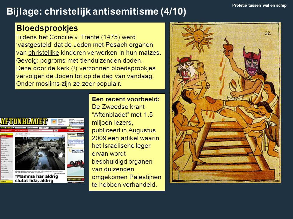 Bijlage: christelijk antisemitisme (4/10)