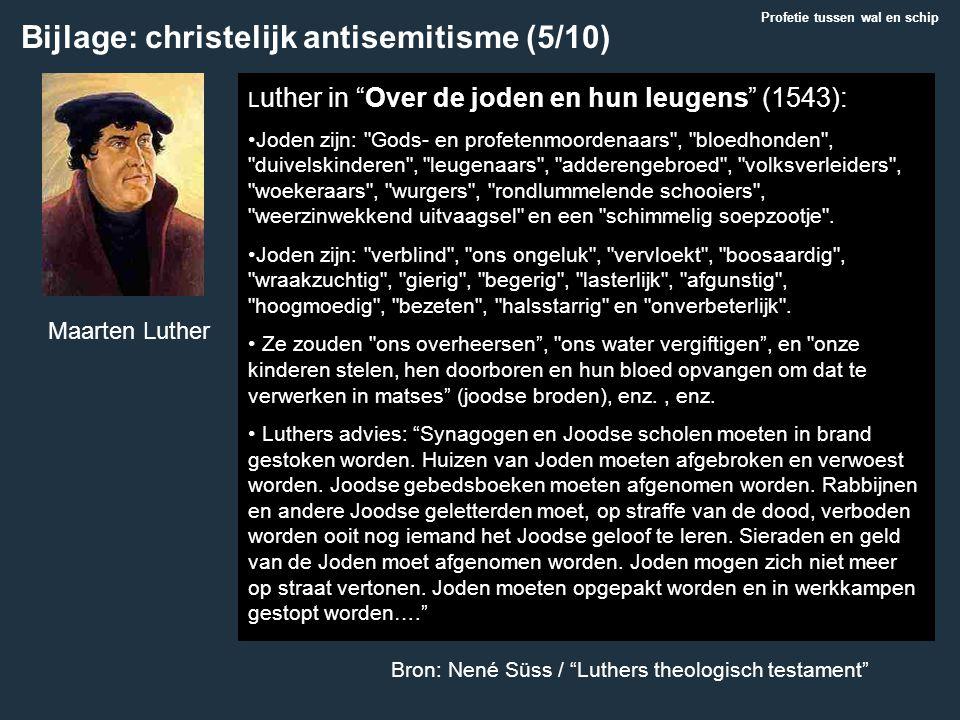 Bijlage: christelijk antisemitisme (5/10)