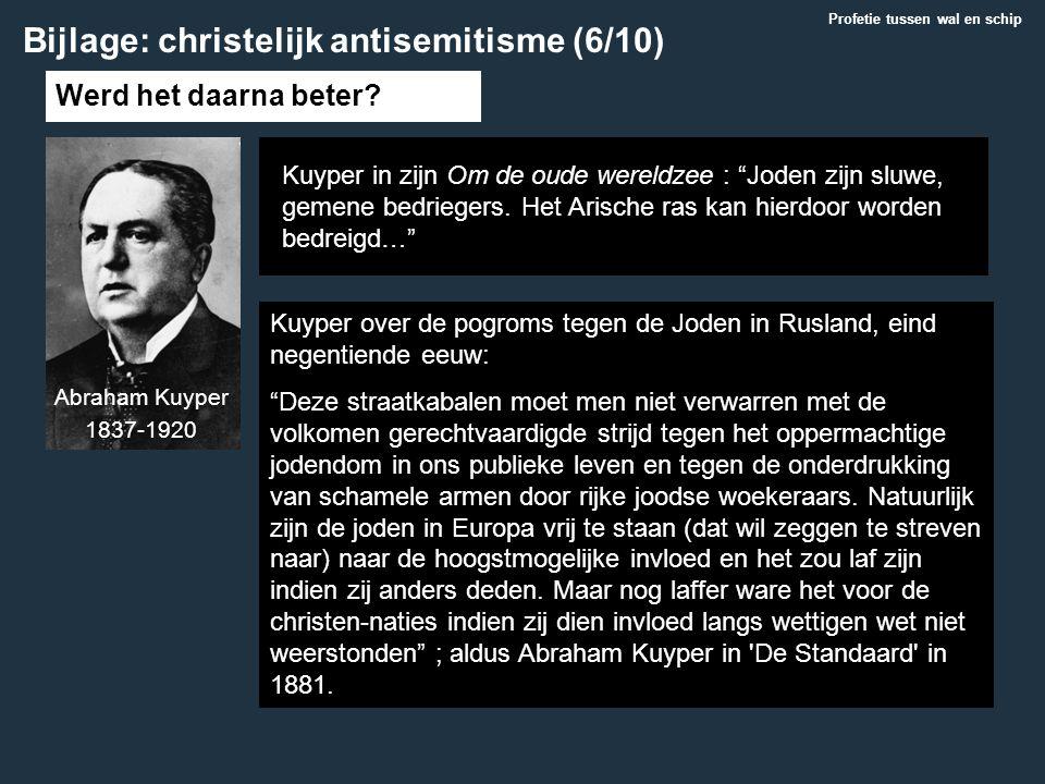 Bijlage: christelijk antisemitisme (6/10)