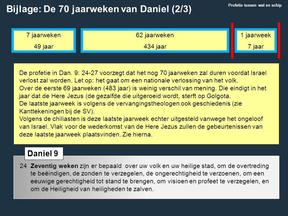Bijlage: De 70 jaarweken van Daniel (2/3)
