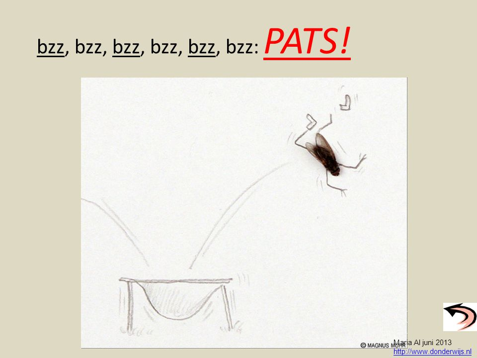 bzz, bzz, bzz, bzz, bzz, bzz: PATS!