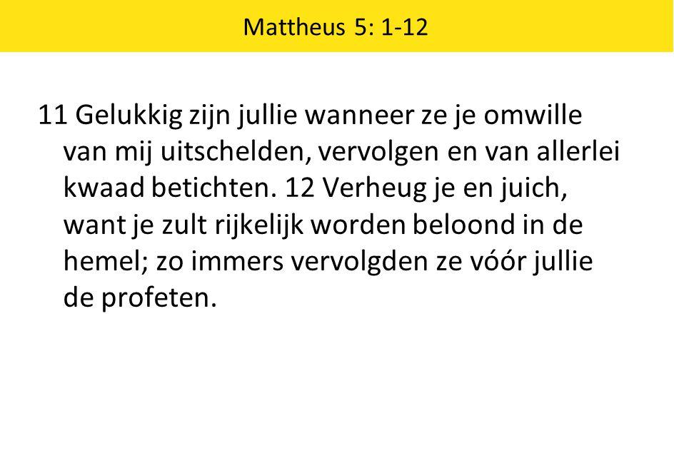 Mattheus 5: 1-12