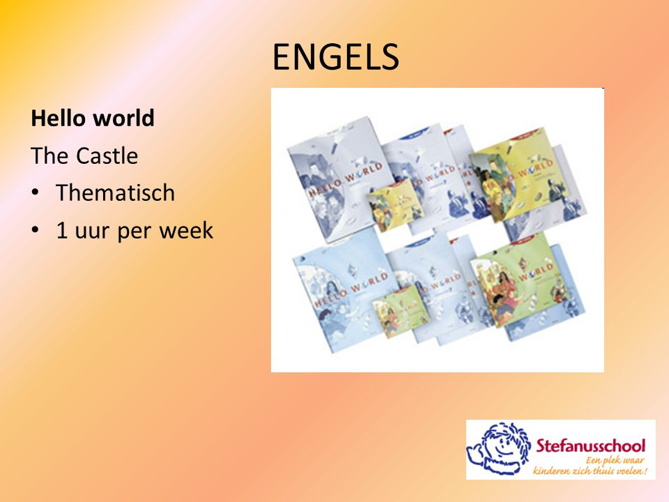 ENGELS Hello world The Castle Thematisch 1 uur per week