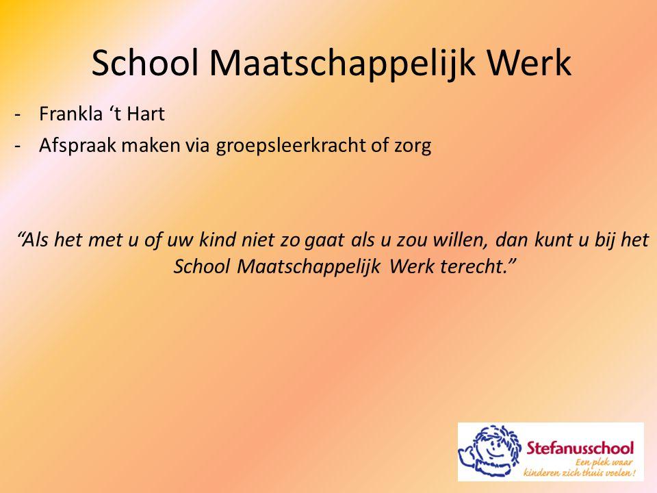 School Maatschappelijk Werk