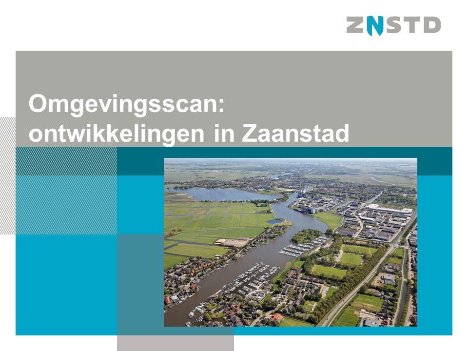 Omgevingsscan: ontwikkelingen in Zaanstad